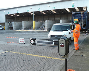 site traffic control