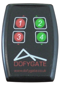 Remote control for gates and barriers