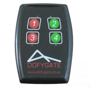 Remote control gate fob