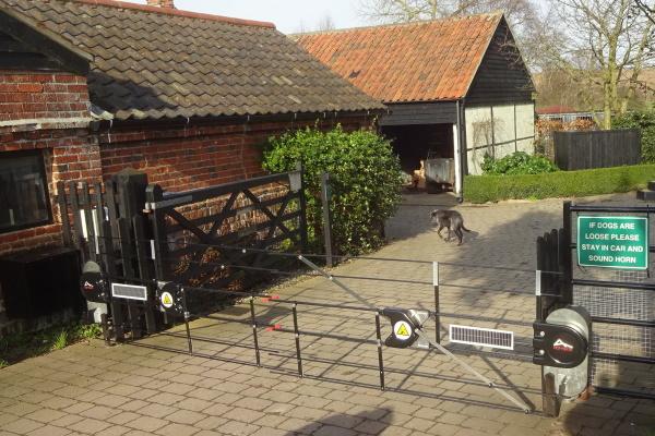 Garden Centre Gate